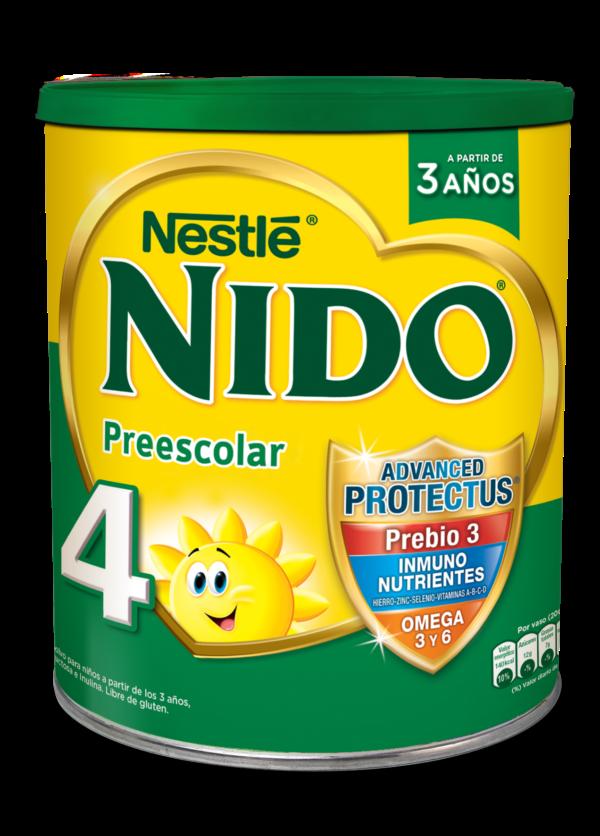 Nido 4 Prebio 3 Leche Lata 6x800g Ar