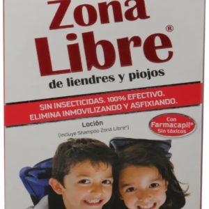 Zona Libre Piojos Kit Locion + Shampoo