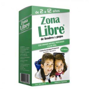 Zona Libre Crema Piojos (verde)