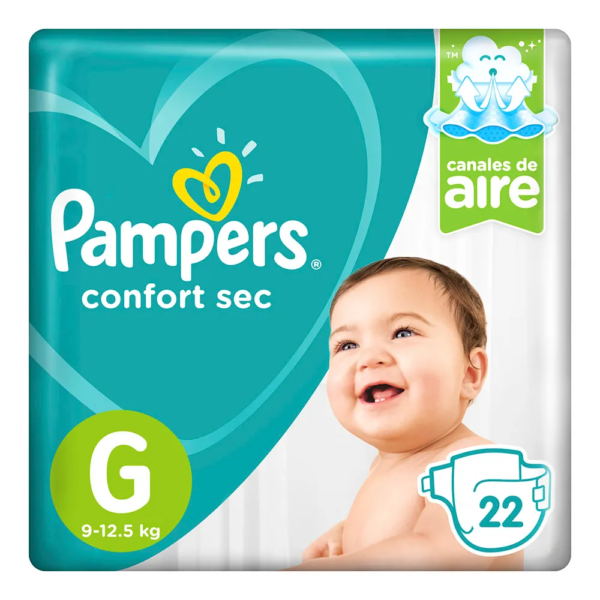 80295129 Pampers Confort Sec Pod Gde 22padsx08