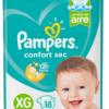 80295130 Pampers Confort Sec Pod Xgd 18padsx08