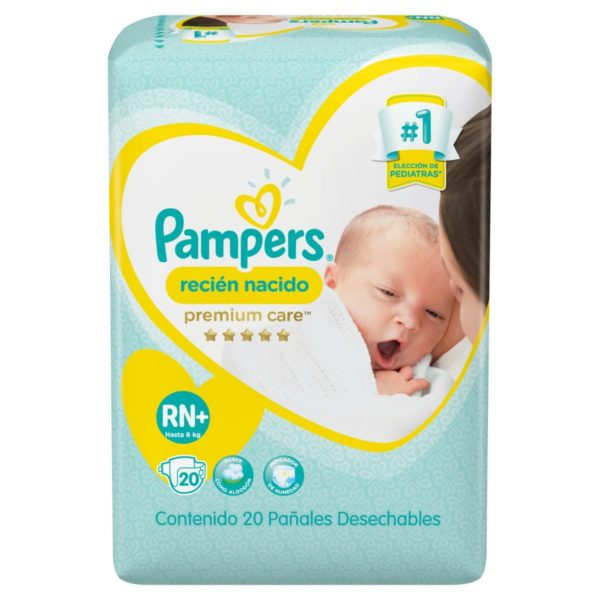 80316237 Pampers Recien Nacido Nb+ 20padsx08 N