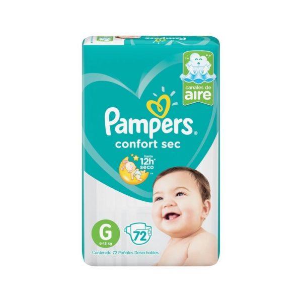 80316181 Pampers Confortsec Gde 72padsx02 N