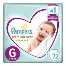 80316960 Pampers Premium Care Gde 72padsx02 N