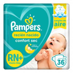 80316159 Pampers Confortsec Rn+ 36padsx04 N