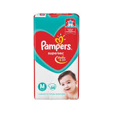 80316211 Pampers Supersec Med 66padsx03 N