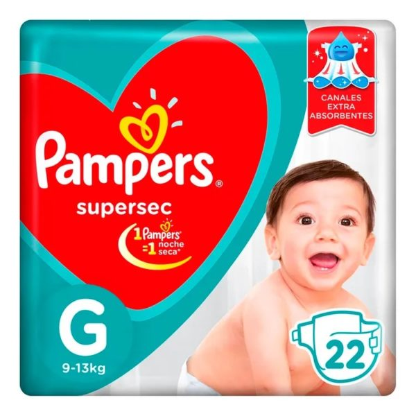 80316201 Pampers Supersec Gde 22padsx08 N