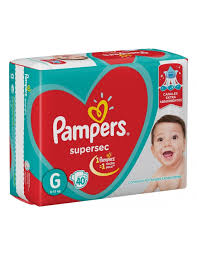 80316205 Pampers Supersec Gde 40padsx4t