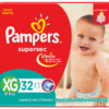80316206 Pampers Supersec Xgde 32padsx4it