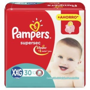 80316207 Pampers Supersec Xxgde 30padsx4it