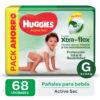 Pañ Hug Actsec G Highcount 2x68 Flex Nuevo