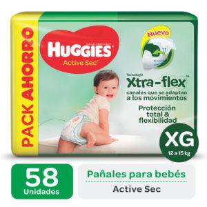 Pañ Hug Actsec Xg Highcount 2x58 Flex Nuevo