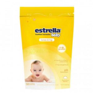 Toallas Humedas Dp Germen De Trigo Estrella Baby 30 X 50u