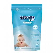Toallas Humedas Dp Manteca De Karite Estrella Baby 30 X 50u