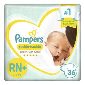 80316238 Pampers Recien Nacido Nb+ 36padsx04 N