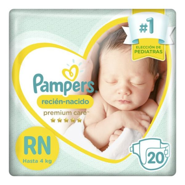 80316103 Pampers Recien Nacido Nb 20padsx12 +
