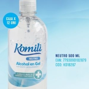 Komili Alcohol En Gel X 500 Ml