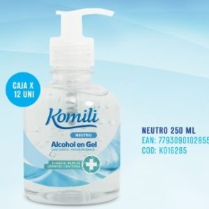 Komili Alcohol En Gel X 250 Ml