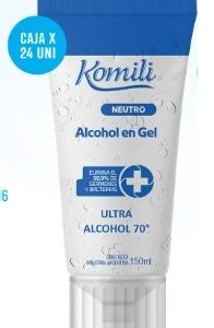 Komili Alcohol En Gel X 150 Ml