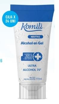Komili Alcohol En Gel X 150 Ml