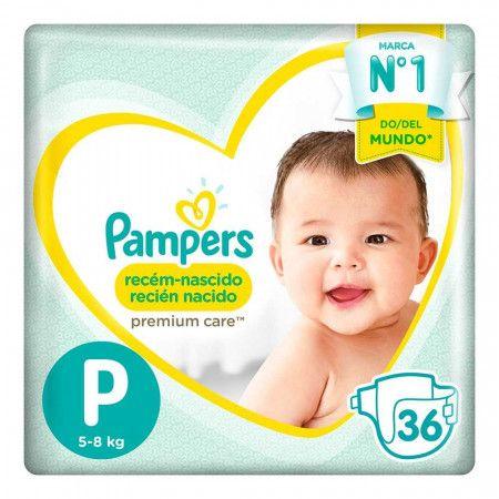 80333671 Pampers Premium Care Peq 36 X 4 Pads