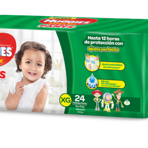 Pañal Huggies Active Sec Baby Pants Xg X24