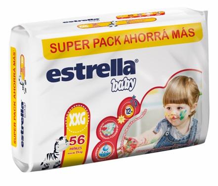 Estrella Pañal Super Pack Xxg -2x68