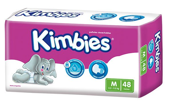 Pañal Kimbies M Ultrap 4x48 T1
