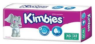 Pañal Kimbies Xl Ultrap 4x32 T1