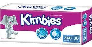 Pañal Kimbies Xxl Ultrap 6x30 T1