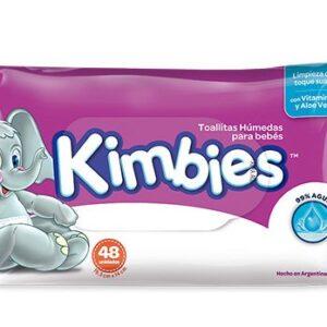 Kimbies Toallas Humedas 30x48