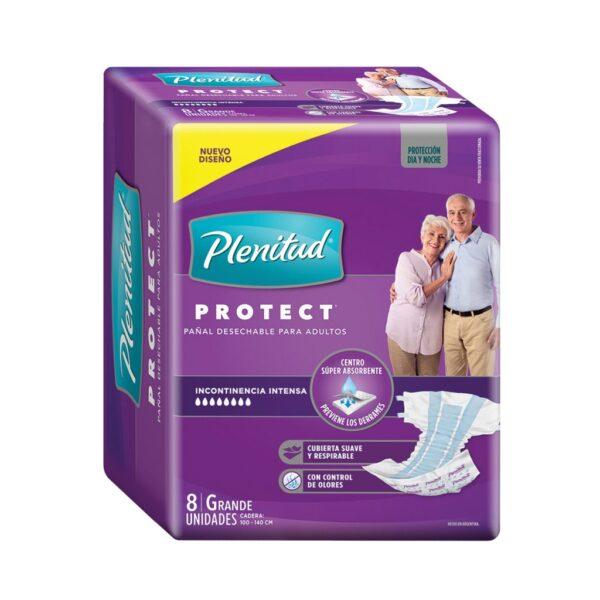 Pañal Plenitud Protect Gde 8x8