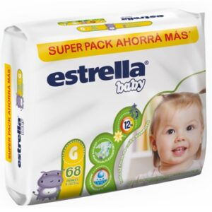 Estrella Pañal Super Pack G -2x68