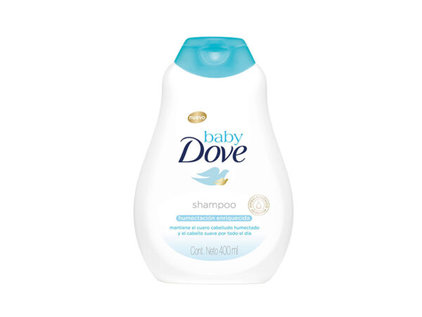 84160174 Dove Baby Sh H Enriq 12x400ml Exp