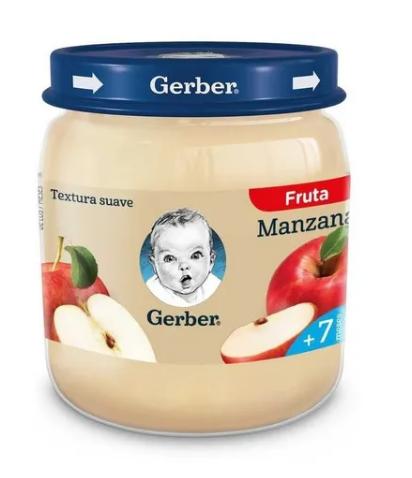 Nestle Gerber Papilla Manzana 12x113gr