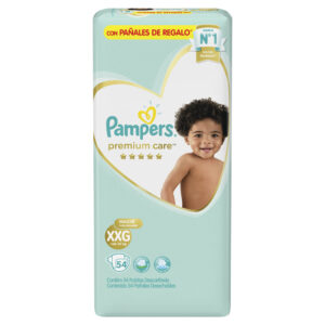 80678434 Pc Pampers Premium Care Xxg 54 X 2 N