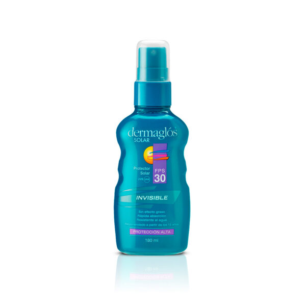 Dermaglós Solar F30 Sp Invisible 180 Ml