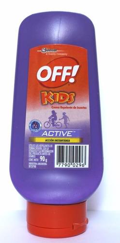 Off! Kids Active Crema 12x90g