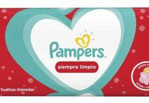 80332772 Pampers T/hum Siempre Limpio 12x48