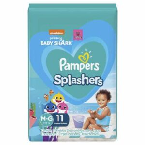 Pampers Splashers - Talle M - 11 Pañales