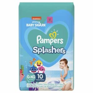 Pampers Splashers - Talle L - 10 Pañales