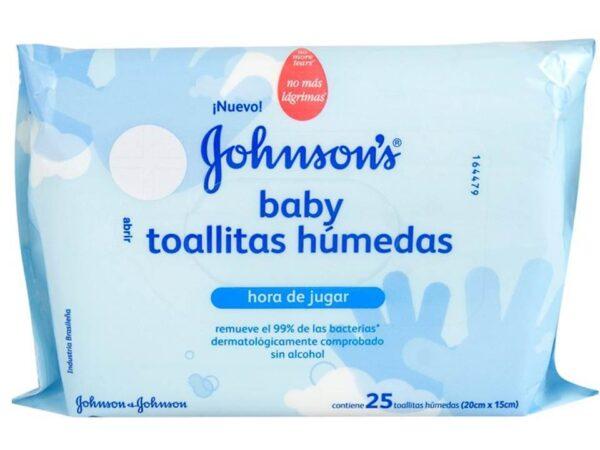 J&j Toallas Humedas Hora De Jugar/libre De Germenes X25 (535799)