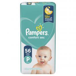 80347998 Pampers Confortsec Peq 56padsx03 N