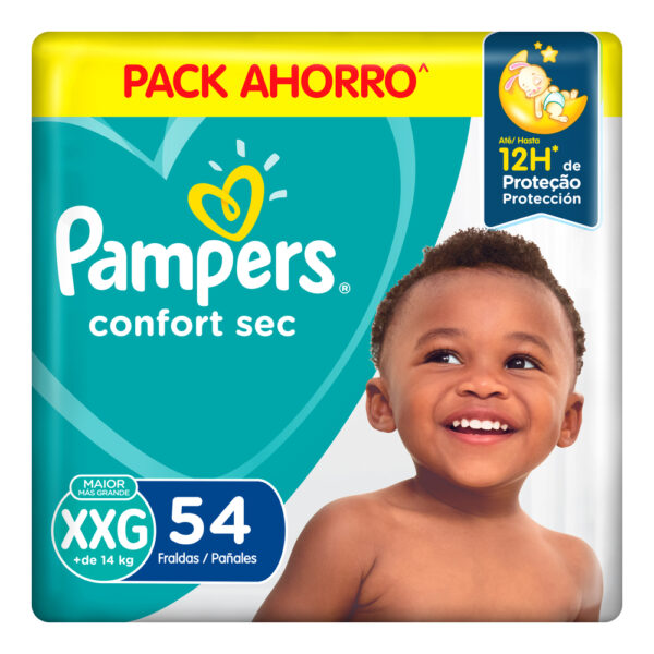 80349680 Pampers Confortsec Xxg Max 54 X 2
