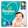 80348023 Pampers Confortsec Med Max 72 X 2