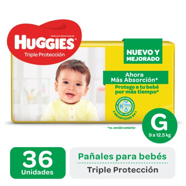 Pañal Huggies Triple Protección Gx36