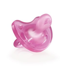 Chicco Silicona Physio Soft Sil 0-6m Pink (1)