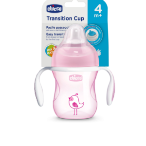 Chicco Vasos Transition Nena +4m 200ml