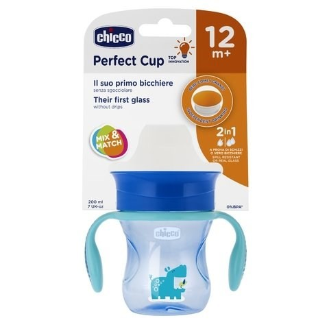 8058664101399 Chicco Vasos Perfect Nene +12m 200ml