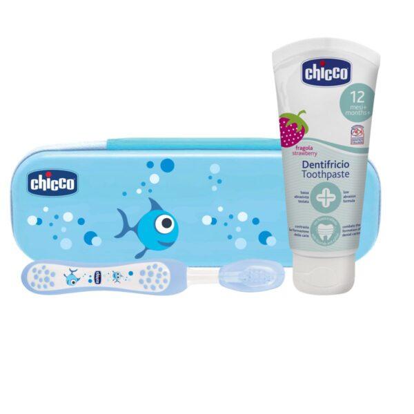 8058664047383 Chicco Set Higiene Bucal Nene